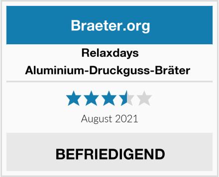 Relaxdays Aluminium-Druckguss-Bräter  Test