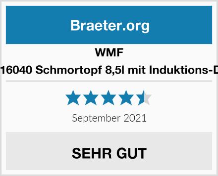 WMF 0788016040 Schmortopf 8,5l mit Induktions-Deckel Test