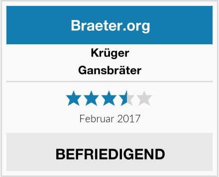 Krüger Gansbräter Test