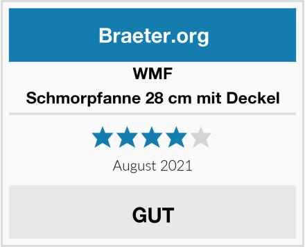 WMF Schmorpfanne 28 cm mit Deckel Test