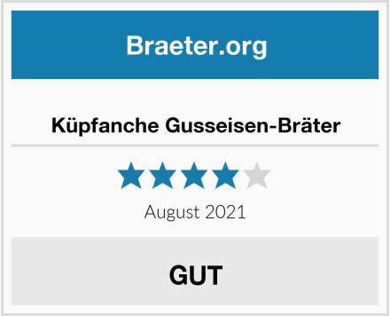 No Name Küpfanche Gusseisen-Bräter Test