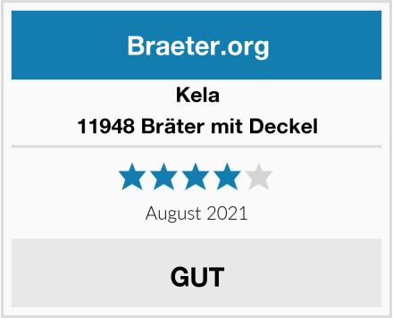Kela 11948 Bräter mit Deckel Test