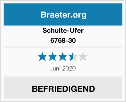 Schulte-Ufer 6768-30 Test