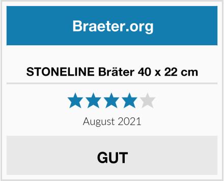 STONELINE Bräter 40 x 22 cm Test