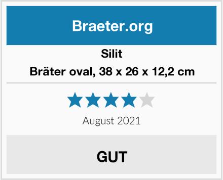 Silit Bräter oval, 38 x 26 x 12,2 cm Test