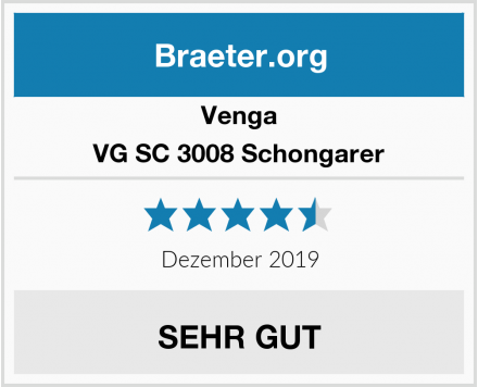 Venga VG SC 3008 Schongarer Test