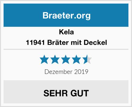 Kela 11941 Bräter mit Deckel Test