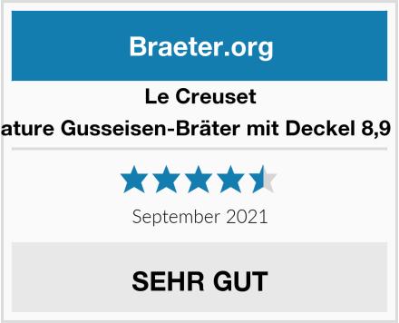 Le Creuset Signature Gusseisen-Bräter mit Deckel, Ø 35 cm Test