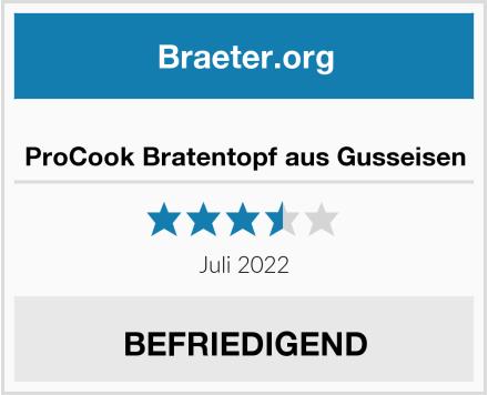 ProCook - Bratentopf aus Gusseisen Test