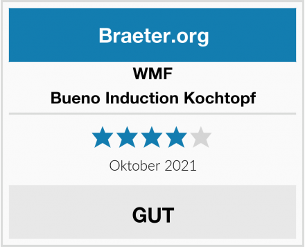 WMF Bueno Induction Kochtopf Test