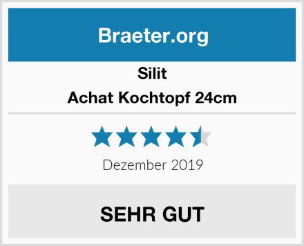 Silit Achat Kochtopf 24cm Test