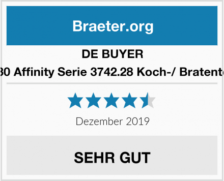 DE BUYER 1830 Affinity Serie 3742.28 Koch-/ Bratentopf Test
