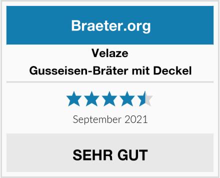 Velaze Gusseisen-Bräter mit Deckel Test
