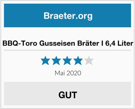 No Name BBQ-Toro Gusseisen Bräter I 6,4 Liter Test