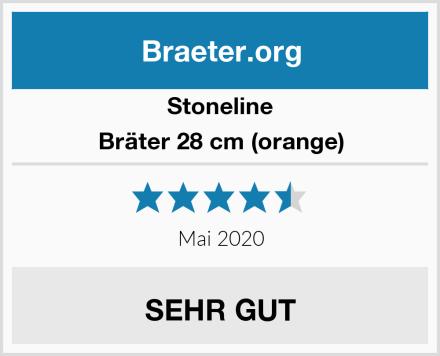 Stoneline Bräter 28 cm (orange) Test