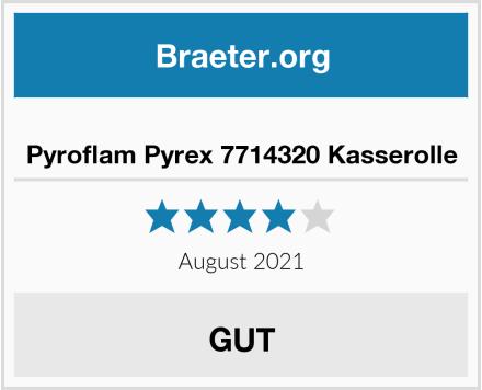 Pyroflam Pyrex 7714320 Kasserolle Test