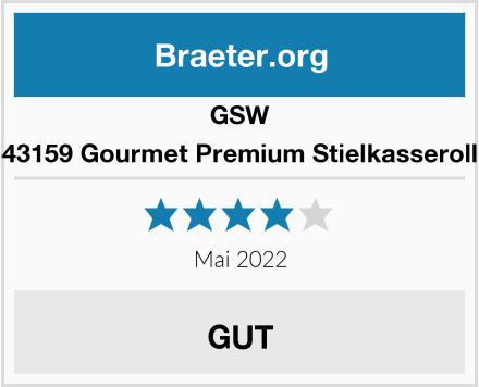 GSW 443159 Gourmet Premium Stielkasserolle Test