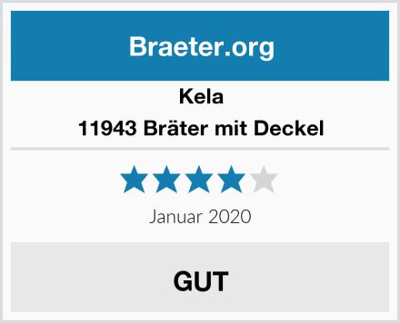 Kela 11943 Bräter mit Deckel Test