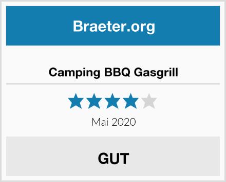 Camping BBQ Gasgrill Test