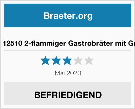 Activa 12510 2-flammiger Gastrobräter mit Grillrost Test