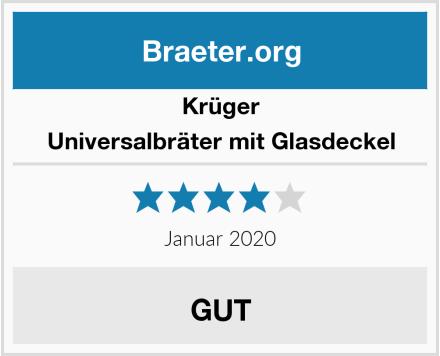 Krüger Universalbräter mit Glasdeckel Test