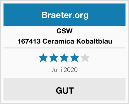 GSW 167413 Ceramica Kobaltblau Test