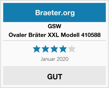 GSW Ovaler Bräter XXL Modell 410588 Test