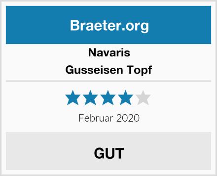 Navaris Gusseisen Topf Test