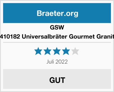 GSW 410182 Universalbräter Gourmet Granit Test