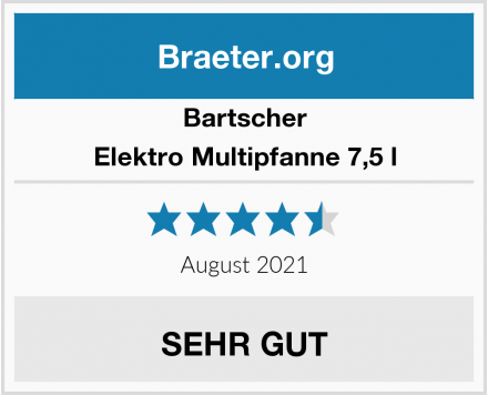 Bartscher Elektro Multipfanne 7,5 l Test