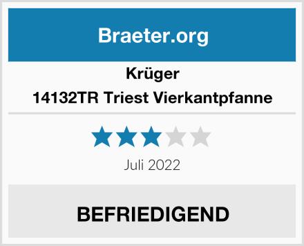 Krüger 14132TR Triest Vierkantpfanne Test