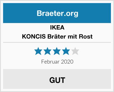 Ikea KONCIS Bräter mit Rost Test