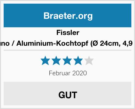 Fissler luno / Aluminium-Kochtopf (Ø 24cm, 4,9 L) Test