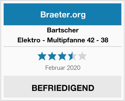 Bartscher Elektro - Multipfanne 42 - 38 Test