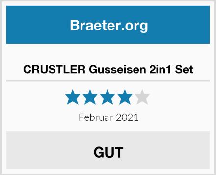 CRUSTLER Gusseisen 2in1 Set Test