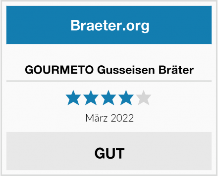 GOURMETO Gusseisen Bräter Test
