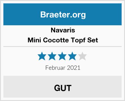 Navaris Mini Cocotte Topf Set Test