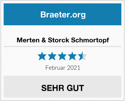 Merten & Storck Schmortopf Test