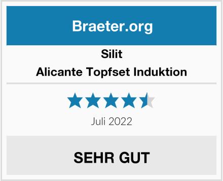 Silit Alicante Topfset Induktion Test