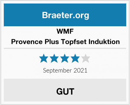 WMF Provence Plus Topfset Induktion Test