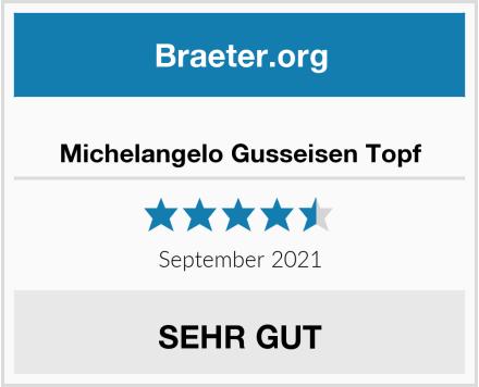 Michelangelo Gusseisen Topf Test