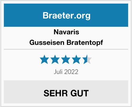 Navaris Gusseisen Bratentopf Test