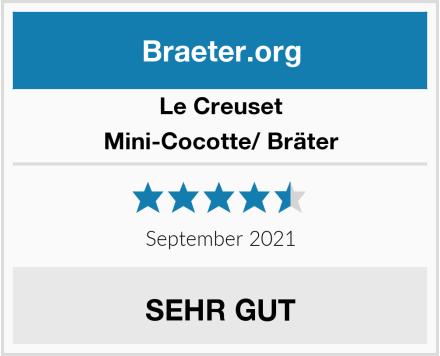 Le Creuset Mini-Cocotte/ Bräter Test