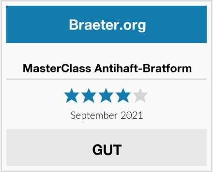 MasterClass Antihaft-Bratform Test