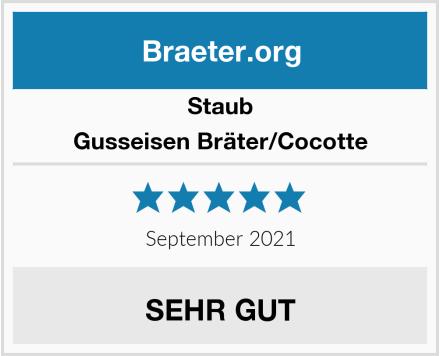 Staub Cocotte/Bräter rund  Test