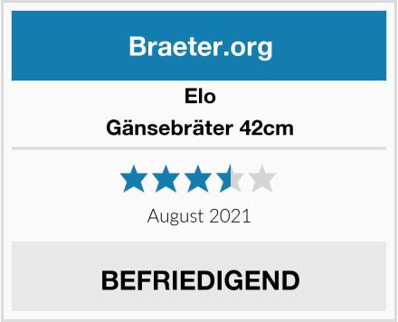 Elo Gänsebräter 42cm Test
