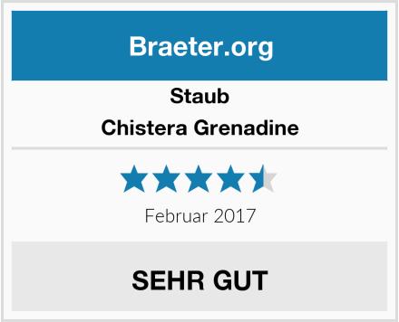 Staub Chistera Grenadine Test