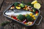Fisch im Bräter zubereiten