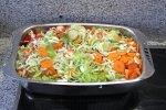 Gemüse schonend im Bräter zubereiten