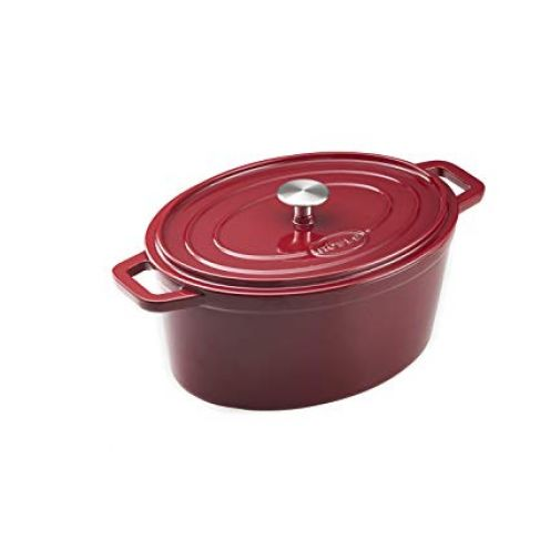 Rösle Bräter oval Dark Red